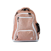 Rebel Athletic | Rose Gold Rebel Dream Bag With White Zipper Pre-Order Now | 14100-REB-DBROSEGOLDWHT