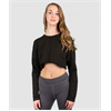 Soffe | Juniors French Terry Throwback Crop | 14230-SOF-5357CP