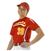 Alleson Athletic | Girls Fastpitch Crew Neck Jersey | 1489-ALL-506CAWY