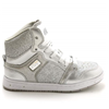 Pastry | Glam Pie Glitter Youth Sneaker In Silver | 15726-PAS-83783