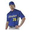 Alleson Athletic | Adult Two Button Stock Baseball Jersey | 3658-ALL-522CPJ