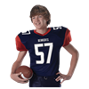 Alleson Athletic | Youth Pro Game Football Jersey | 37-ALL-751Y