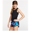 Soffe | Girls Print Shorty Short | 481-SOF-081GPR