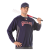 Alleson Athletic | Adult Long Sleeve Pullover Practice Jersey | 548-ALL-598BBL