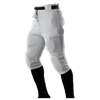 Alleson Athletic | Youth Elastic Waist 6 Snap Practice Football Pant | 58-ALL-611SNY
