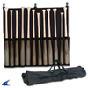 CHAMPRO Sports | 12 Bat Fence/Carry Bag Black | 5884-CHP-E20B