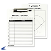 "CHAMPRO Sports | Baseball / Softball Coach's Board 9"" X 12"" 
