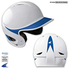 CHAMPRO Sports | Two-Tone Gem Gloss Performance Batting Helmet W/O Facemask | 6236-CHP-H4H