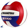 CHAMPRO Sports | Pro Perform Volleyball Scarlet/White/Royal | 6266-CHP-VB-ST700SWR