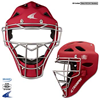 CHAMPRO Sports | Rubberized Matte Finish Pro-Plus Catcher's Hockey Style Headgear | 6313-CHP-CM6M