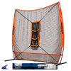 CHAMPRO Sports | Mvp Portable Training Net With Tz3 Training Zone 7' X 7' | 6402-CHP-NB35
