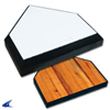 CHAMPRO Sports | In-Ground Home Plate With Solid Wood Bottom | 6462-CHP-B035R