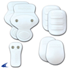CHAMPRO Sports | Ultra Light 7-Piece Pad Set With Sliding Snaps Youth | 6585-CHP-F7ULSSN