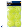 CHAMPRO Sports | 6 Pack Yellow Poly Softballs | 6676-CHP-CSB-51C