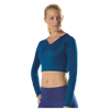 Alleson Athletic | Girls Cheerleading Vneck Midriff Top | 720-ALL-C302VMY