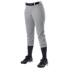 Alleson Athletic | Womens Belt Loop Fastpitch Pant | 819-ALL-605PBW