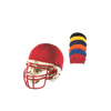 Alleson Athletic | Football Helmet Cover | 82-ALL-3HCCL