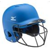 Mizuno | MVP Solid L/XL Batting Helmet with Fastpitch Softball Wire Mask | 9479-MIZ-380356