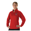 Alleson Athletic | Womens Gameday Quarter Zip Long Sleeve Fleece | 981-ALL-GFQZW3