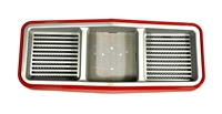CASE 84 85 SERIES TOP GRILLE ASSEMBLY 3121663R2