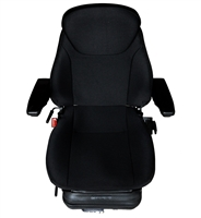 GENERAL PURPOSE SPRING COMFORT SEAT WITH HEAD REST