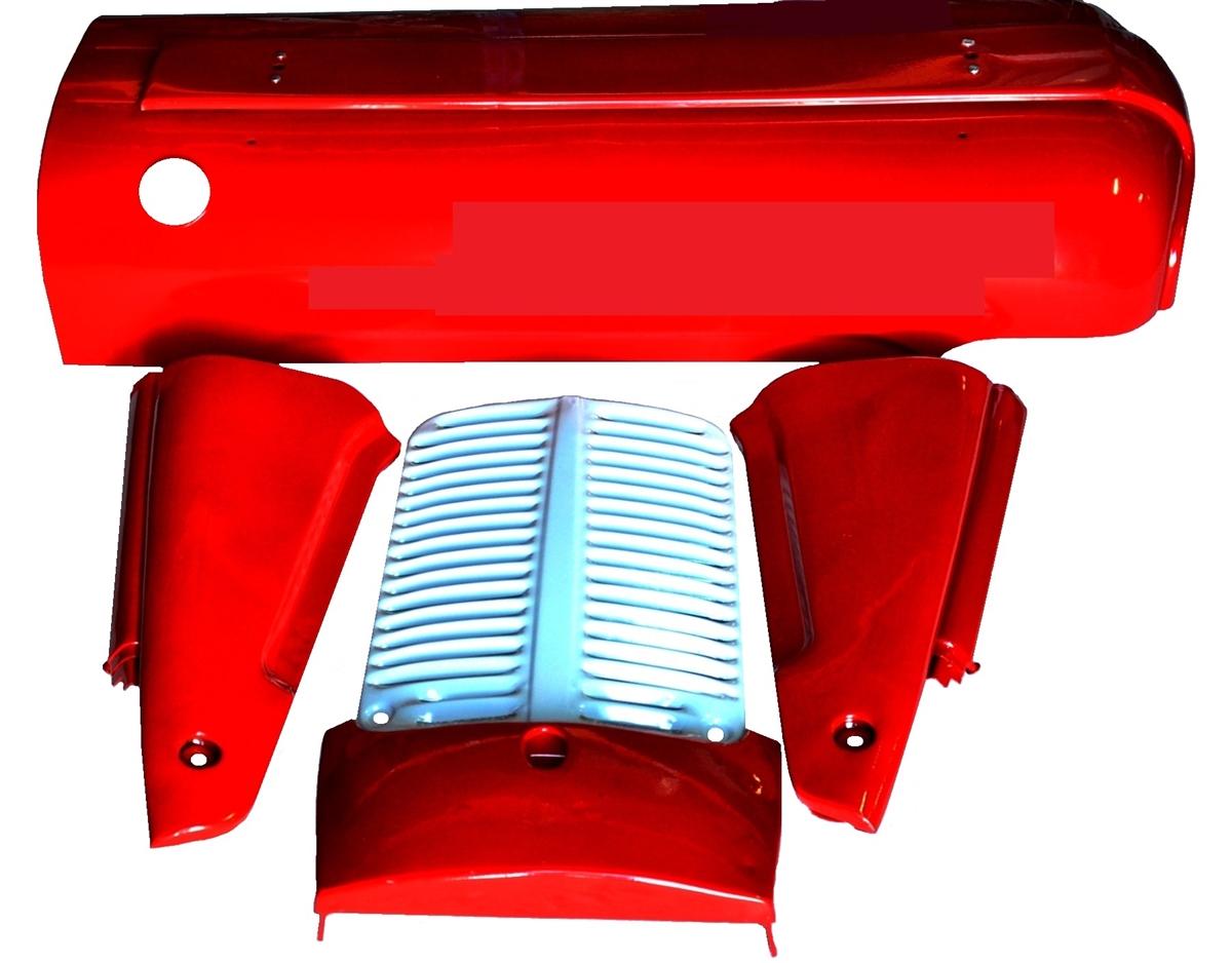 BONNET SIDE PANEL Pair LH RH Massey Ferguson Tractor MF 35 35 890162M9 826815M91