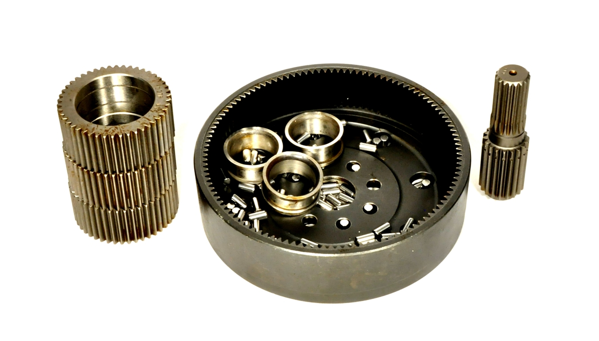 Zf axle apl 330 4wd hub repair kit gear carrier for Bobcat 743 drive motor rebuild kit