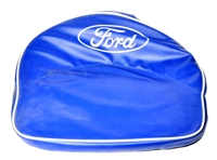 FORDSON BUCKET SEAT CUSHION BLUE WITH WHITE TRIM (ONE PIECE)