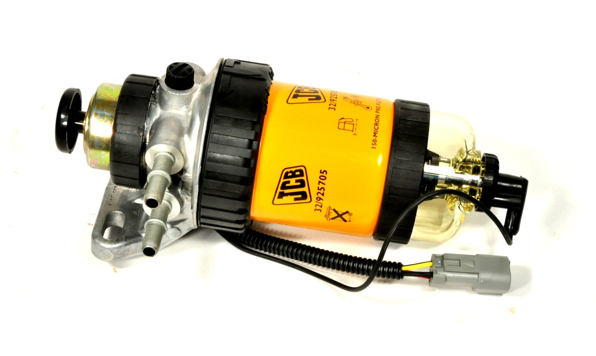 JCB 3CX P12 P21 FUEL FILTER WITH HEAD AND LIFT PUMP ASSEMBLY (NEW TYPE)  (OEM 32/925718)