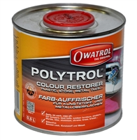 OWATROL POLYTROL COLOUR RESTORER FOR PLASTIC STONE METAL TILES
