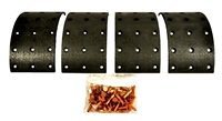 CASE DAVID BROWN BRAKE SHOE LINING KIT K262705