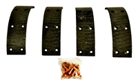 "DAVID BROWN BRAKE LINING KIT (1 3/4"") K262703"