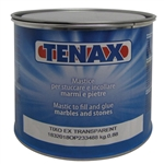 Knife Grade Glue Quart, Polyester Quart Glue, Tenax Transparent Tixo Knife, 2 ;b quart #1CAA00BL80EA0088
