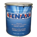 Knife Grade Glue Quart, Polyester Quart Glue, Tenax Transparent Tixo Knife  4 Liter Part #1CAA00BL80EA04