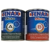 Tenax Micto A & B Fast Transparent Epoxy 1+1 Liter Part # 1RFA00HE50