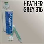 Heather Gray Part# 1RGLAXSCHEATHERGRAY Glaxs Porcelain Ceramic Glue