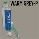 Glaxs Warm Gray - P 844 Porcelain/Ceramic Glue Cartridge Part# 1RGLAXSCWARMGRAY