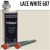 Lace White Titanium Extra Rapid Cartridge Glue #1RTLACEWHITE