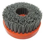 "Part # 25WIRE04240 Tenax 4"" Snail Lock Wire Brush 240"