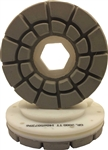 "Part # LE125FINT24910 Tenax 5"" Snail Lock Flat Edge Premium Resin Diamond 2000TT"