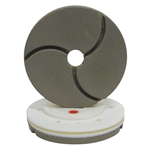 "Tenax 6"" Snail Lock Bullnose Quartz Automated Edge Polishing Wheel 3000 W"
