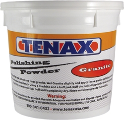 Part # POLVERGR Tenax Granite Polishing Powder 15 kg/33 lb