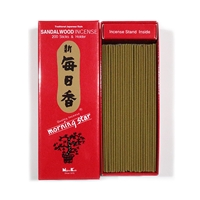 NIPPON KODO | MORNING STAR Incense - SANDALWOOD 200 sticks