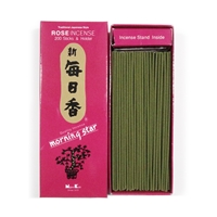 NIPPON KODO | MORNING STAR Incense - ROSE 200 sticks