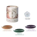 PREMIUM HANA-NO-HANA  Assortment 12 coils (Rose, Lily, & Violet)
