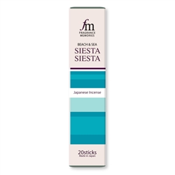 NIPPON KODO | Fragrance Memories - SIESTA SIESTA - INCENSE - Blood orange, Tomato Sangria - 20 sticks