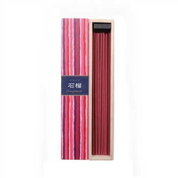 NIPPON KODO | KAYURAGI - INCENSE - POMEGRANATE - 40 sticks