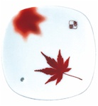 NIPPON KODO | YUME-NO-YUME (The Dream of Dreams) - INCENSE BURNER ( PLATE ) - MAPLE LEAF