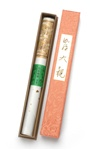 NIPPON KODO | KYARA TAIKAN - LONG STICK INCENSE - PREMIUM ALOESWOOD - 80 sticks