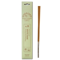 NIPPON KODO | HERB & EARTH - Bamboo Stick Incense WHITE SAGE